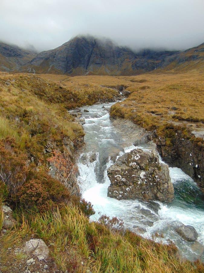 Piscines féeriques, île de Skye, Ecosse photo libre de droits
