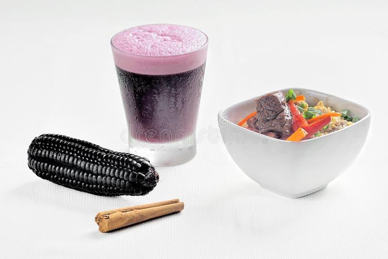Pisco aigre, boisson typique de cuisine péruvienne images stock