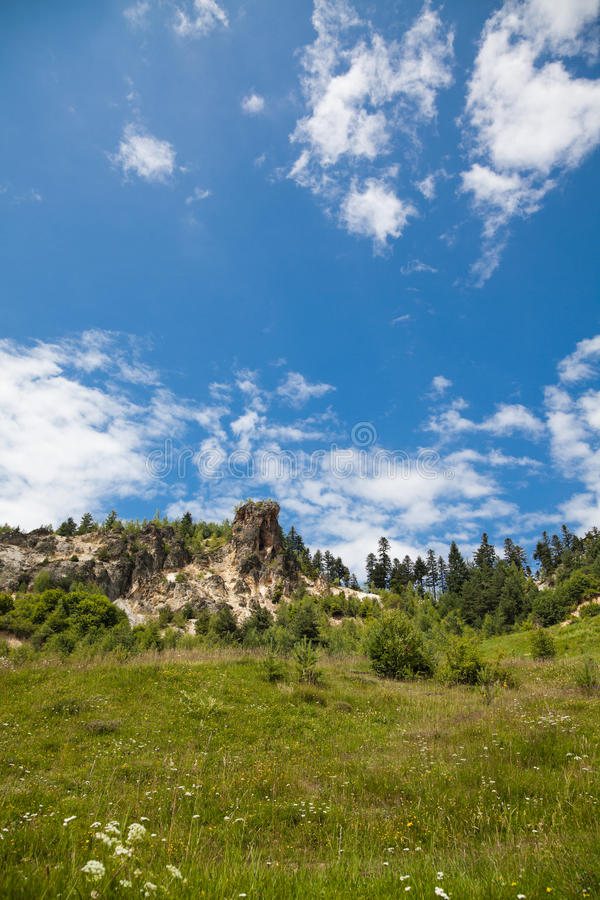Download Piscul Corbului stock image. Image of formation, mountains - 15222043