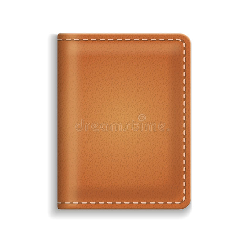 Piska dagboken eller matlagningbokomslag som isoleras på vit bakgrund stock illustrationer