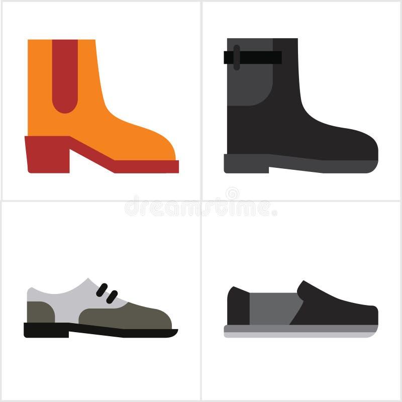 piska skor arkivbilder