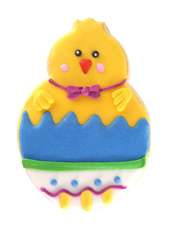 pisklęcy ciastko Easter odizolowywający obrazy royalty free
