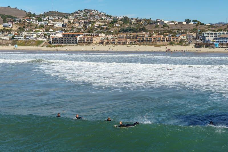 Pismo Beach Town royalty free stock image