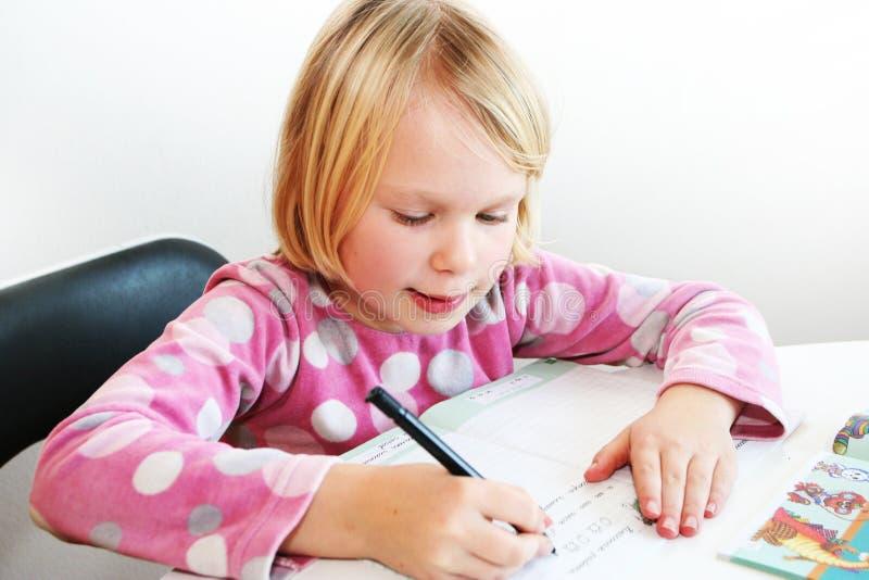 pismo dziecka zdjęcia stock