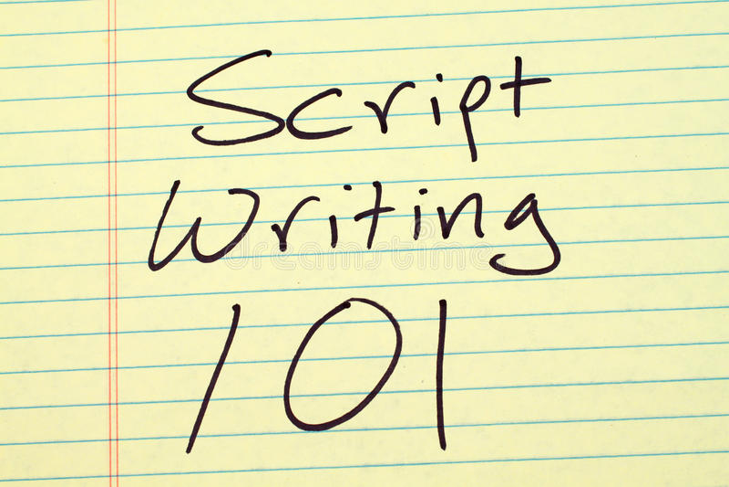 Pismo Pisze 101 Na Żółtym Legalnym ochraniaczu zdjęcie stock