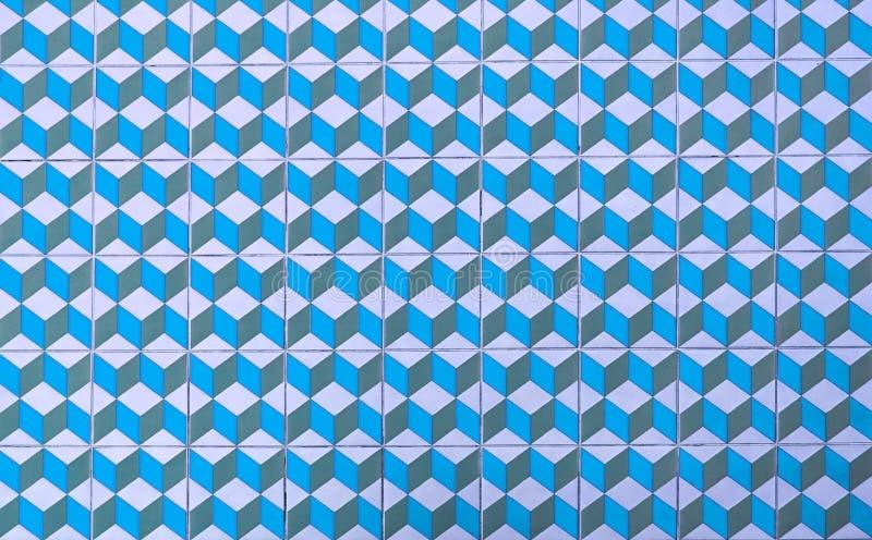Piso colorido de tejas retras libre illustration