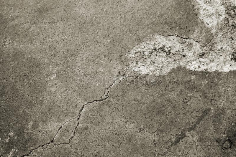 Piso concreto erosionado viejo fotos de archivo
