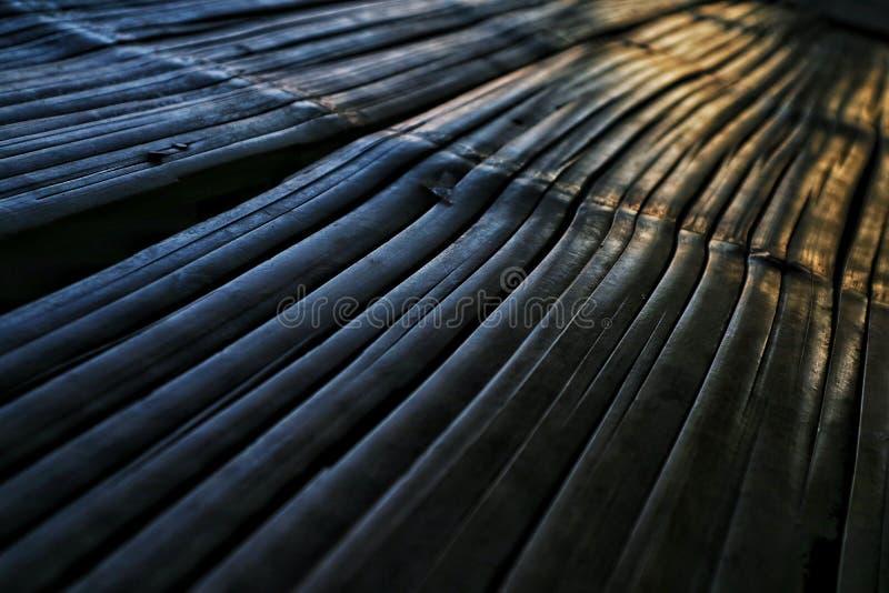 Piso de bambú imagenes de archivo