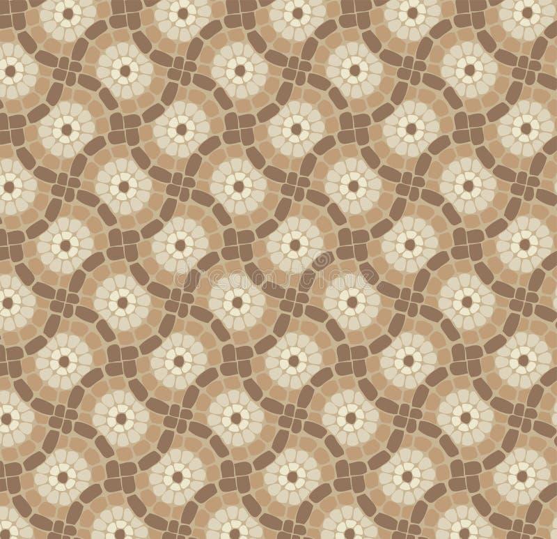 Download Piso De Mosaico, Modelo De Piedra Del Fondo Ilustración del Vector - Ilustración de mosaico, antigüedad: 42434510