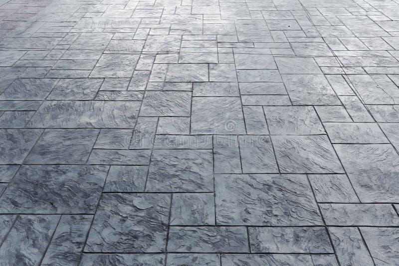 Piso del bloque del cemento del pavimento imagen de - Pavimento de cemento ...