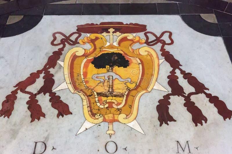 Piso en la iglesia del St Bernard en el alle T de Bernardo de los baños foto de archivo libre de regalías