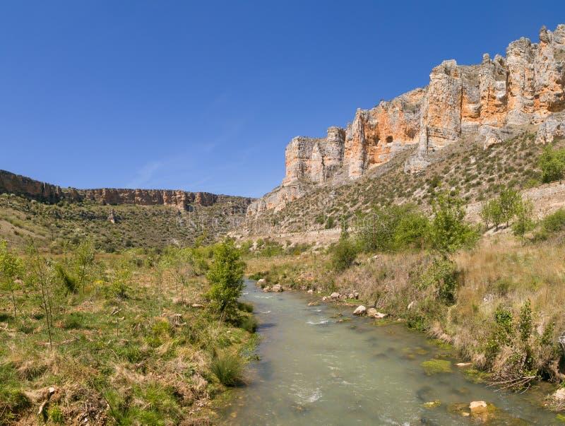 Piso fluvial e calcário fotos de stock royalty free