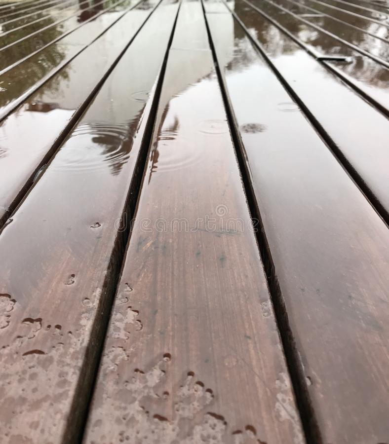 Piso lluvioso imagenes de archivo