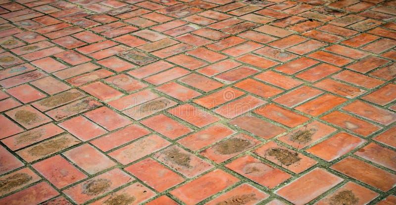 Pisos del ladrillo imagen de archivo imagen de roto - Patio piso de ladrillo ...