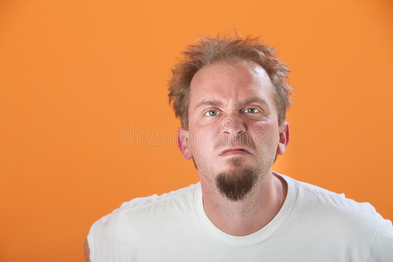 Download Pissed-off Man stock image. Image of male, person, finicky - 18723063