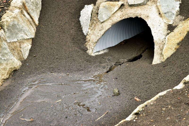 Pista colorida de la erosi?n foto de archivo libre de regalías