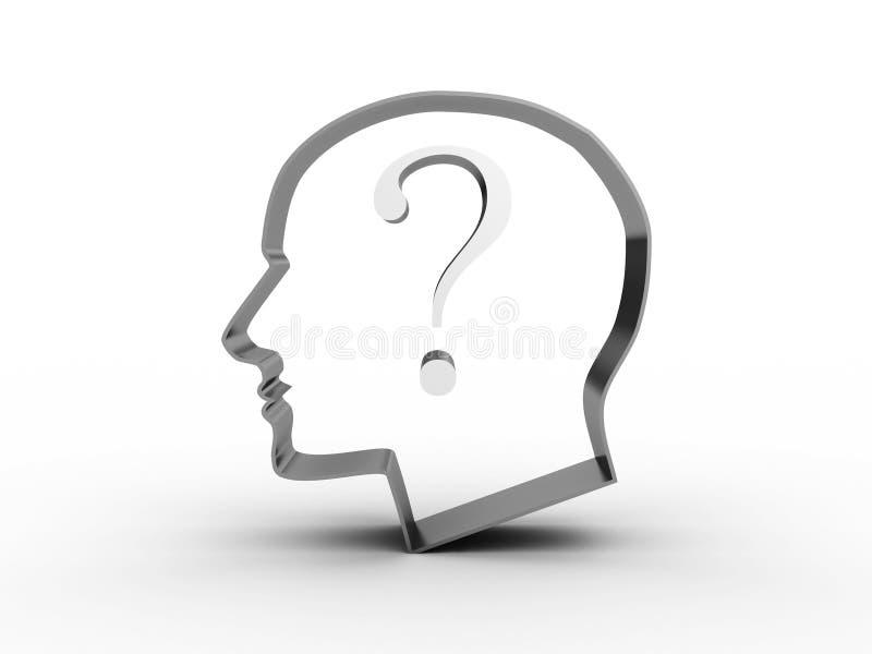 Pista con una pregunta adentro. imagen 3D libre illustration