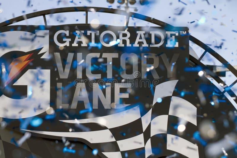 Pista da vitória de NASCAR em Phoenix, o Arizona imagens de stock