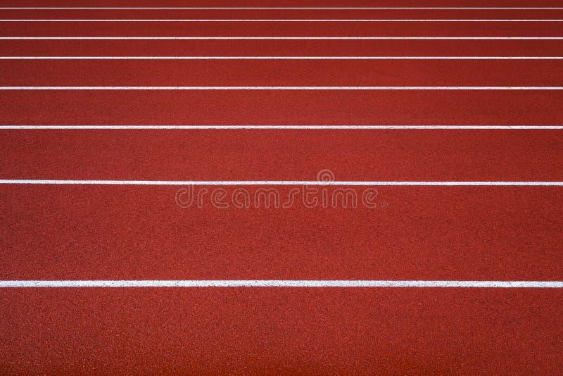 Pista de atletismo nova, sumário, textura, fundo. fotos de stock royalty free