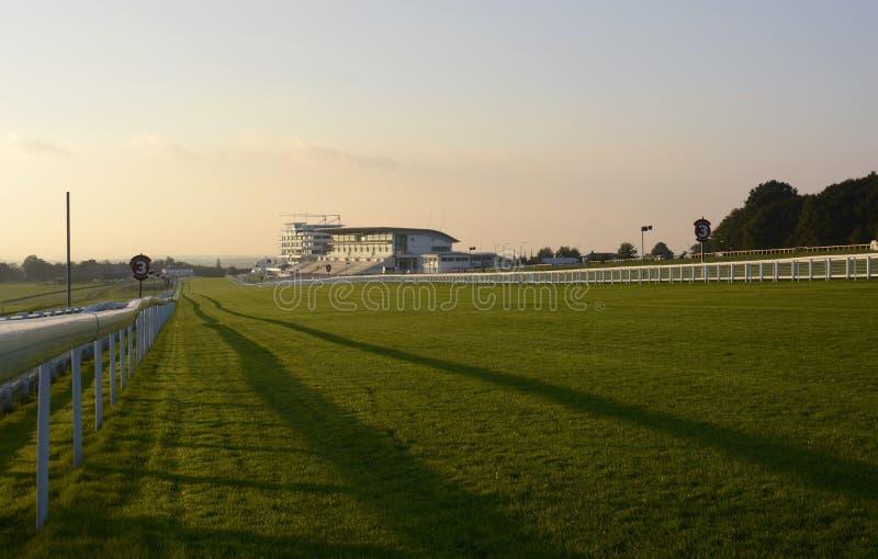 Pista de corridas de Epsom. Surrey. Inglaterra fotos de stock royalty free
