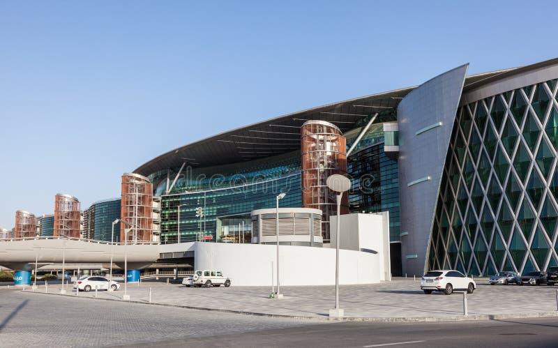 Pista de corridas de Meydan em Dubai imagens de stock