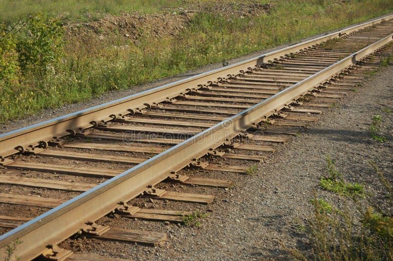 Pista de ferrocarril imágenes de archivo libres de regalías