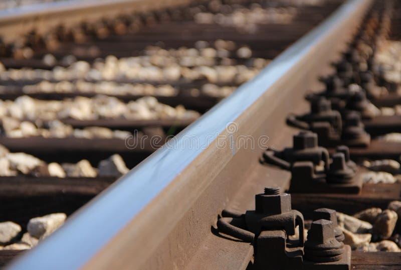 Pista de ferrocarril fotos de archivo