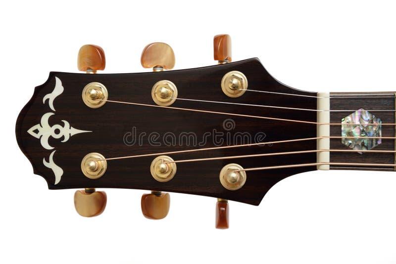 Pista de la guitarra acústica fotos de archivo libres de regalías