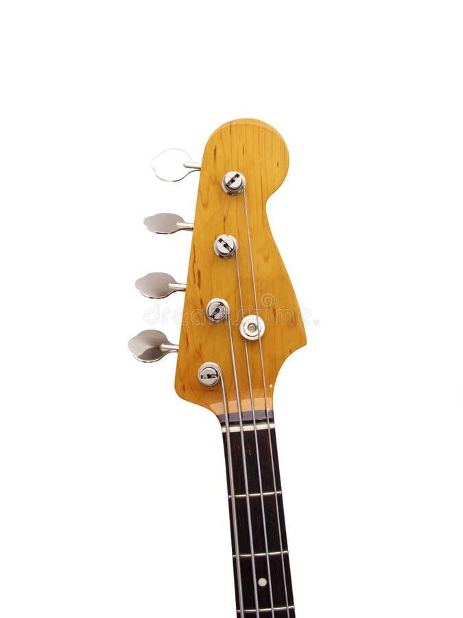 Pista de la guitarra baja foto de archivo libre de regalías
