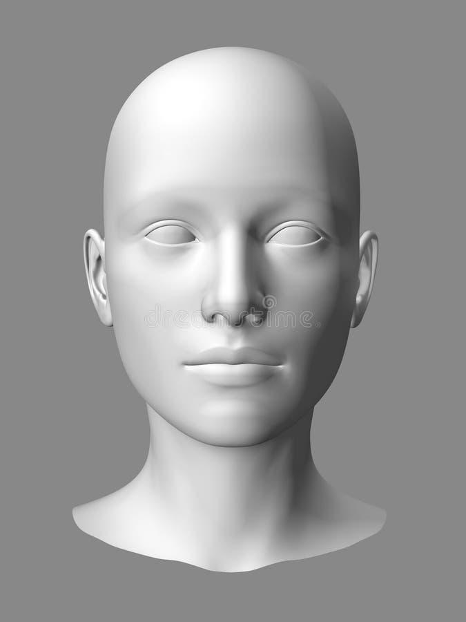 Pista de la mujer ilustración del vector