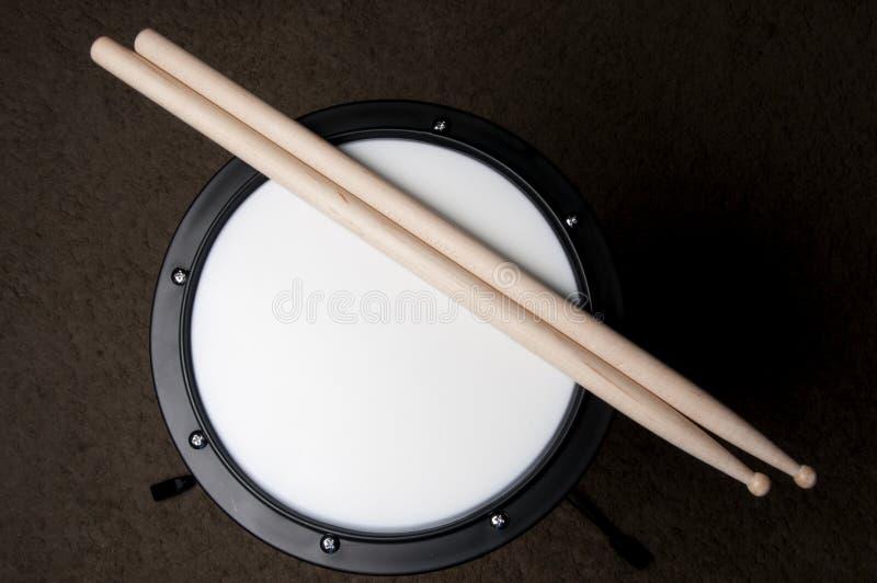 Pista de la práctica del tambor imágenes de archivo libres de regalías