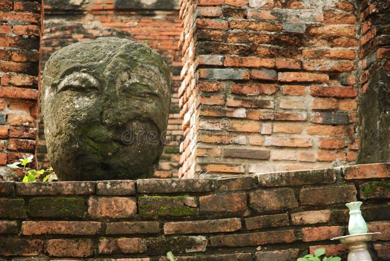 Pista de piedra de Buddha fotos de archivo