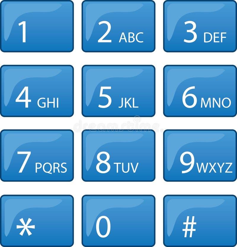 Pista del dial del teléfono libre illustration