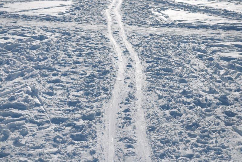Pista del esquí imágenes de archivo libres de regalías