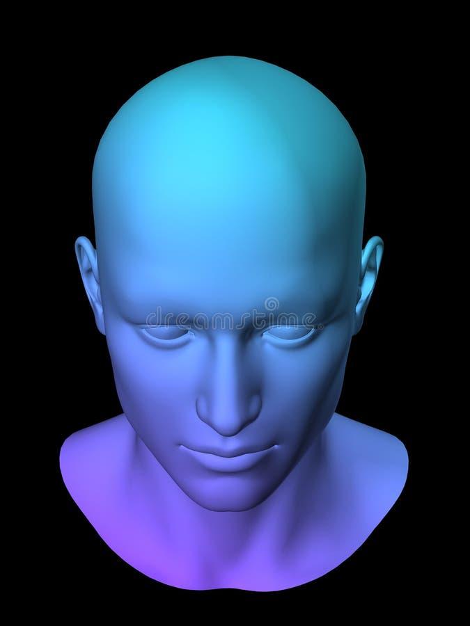 Pista del hombre ilustración del vector