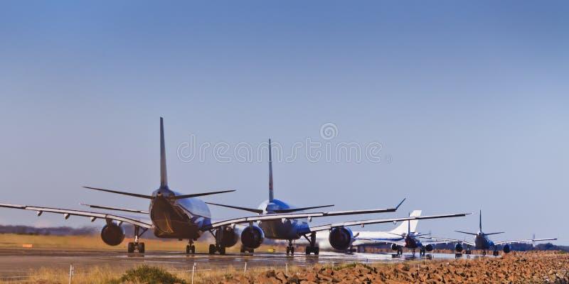 Pista del tráfico aéreo imagenes de archivo