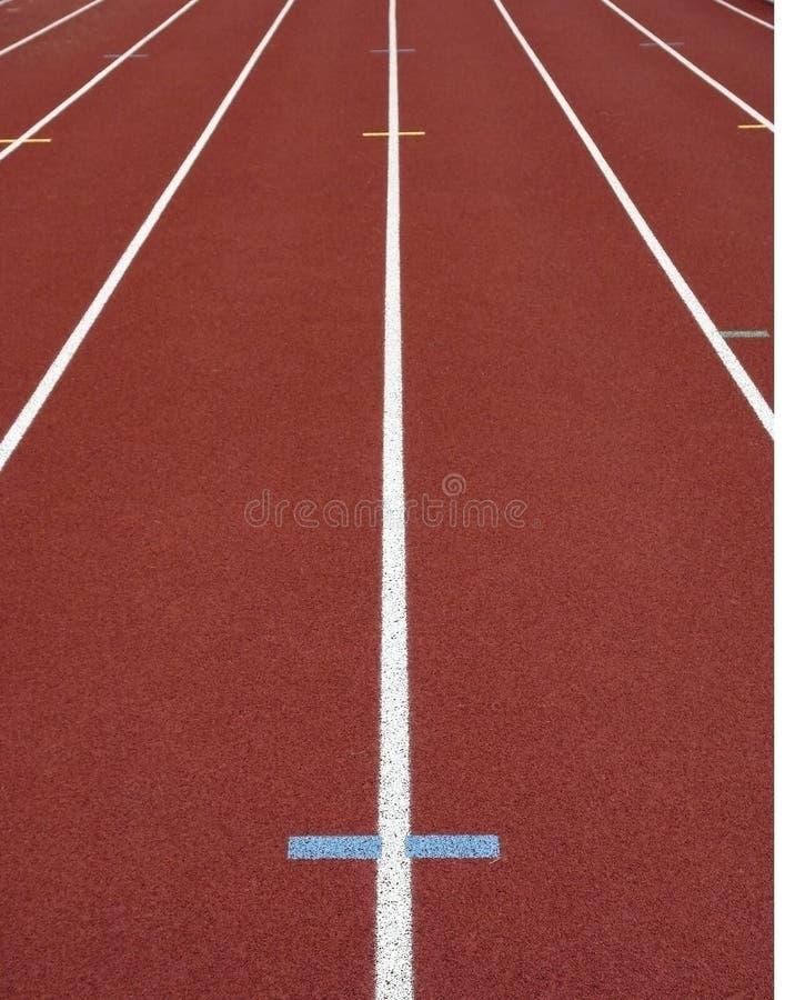 Pista dell'atletica leggera fotografia stock libera da diritti