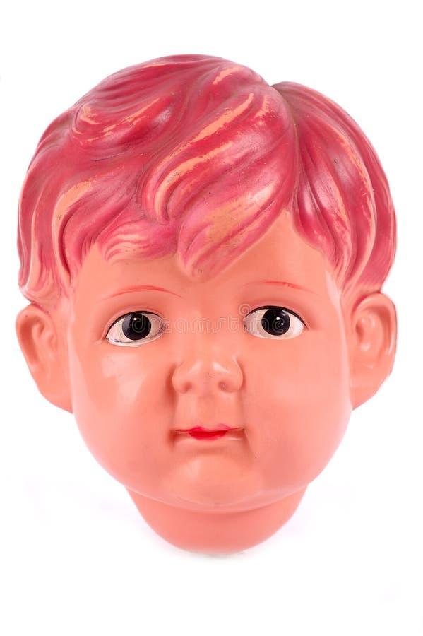Pista masculina plástica de la muñeca fotografía de archivo