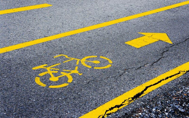 Pista para a bicicleta fotos de stock