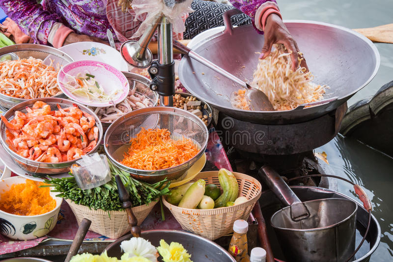 Pista tailandesa foto de archivo