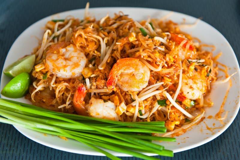 Pista tailandesa del alimento tailandesa foto de archivo