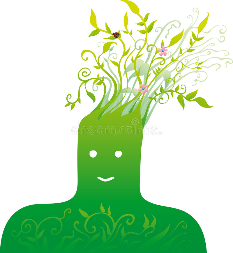 Pista verde libre illustration