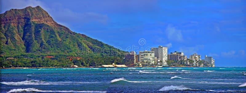 Pista y Honolulu del diamante foto de archivo libre de regalías