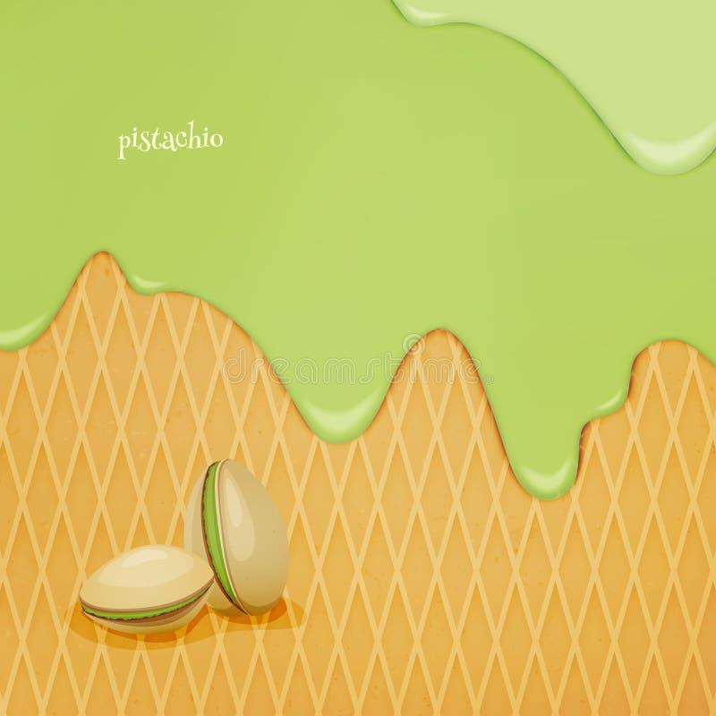 pistachio ilustração stock