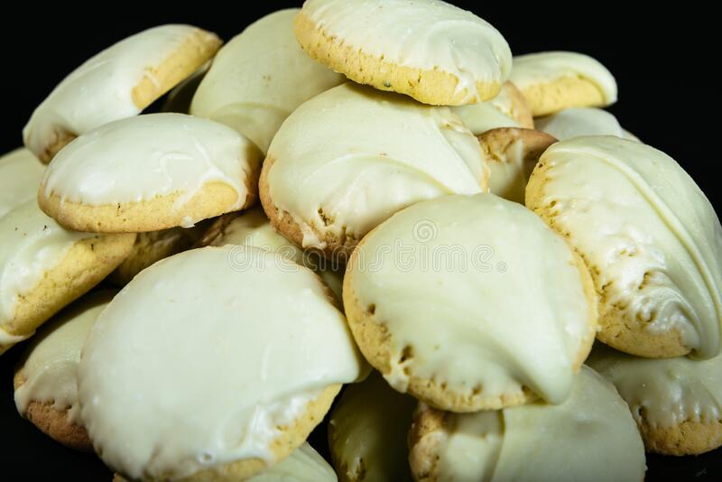 Pistachio biscuits royalty free stock image
