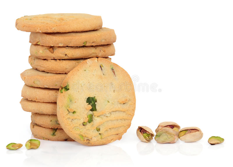 Download Pistachio Nut Biscuits stock image. Image of sweet, homemade - 24842661