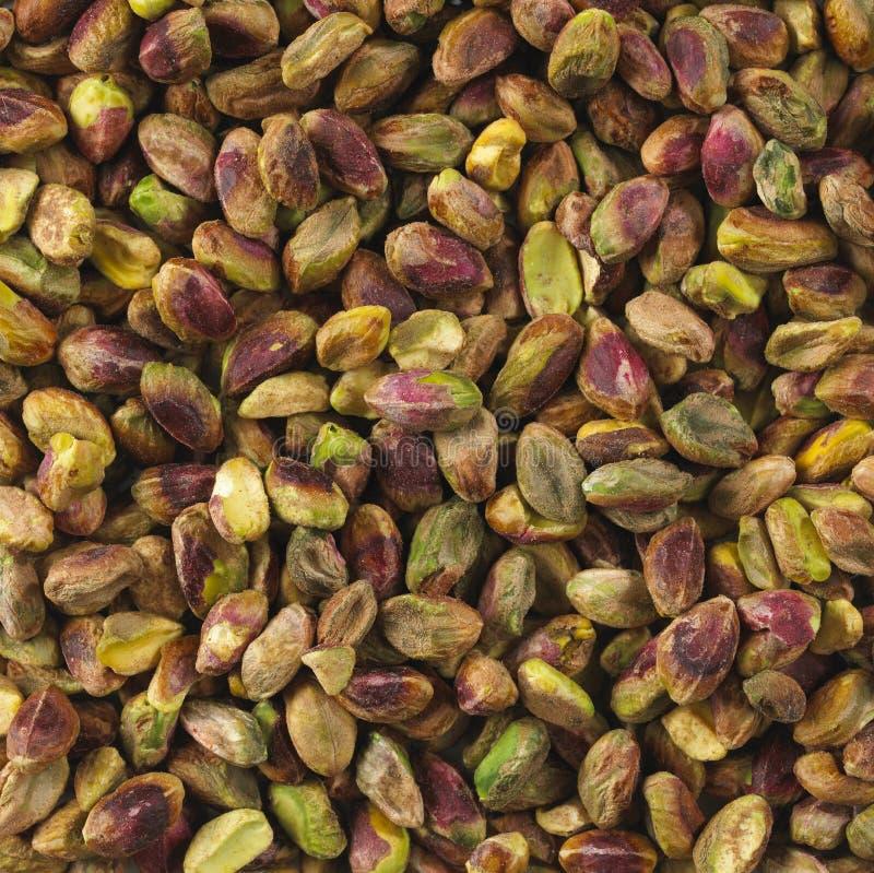 Pistachio nut kernels. Close up royalty free stock images