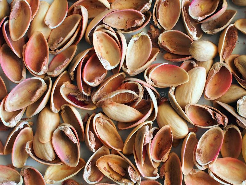 Pistachio Nut Shells royalty free stock image