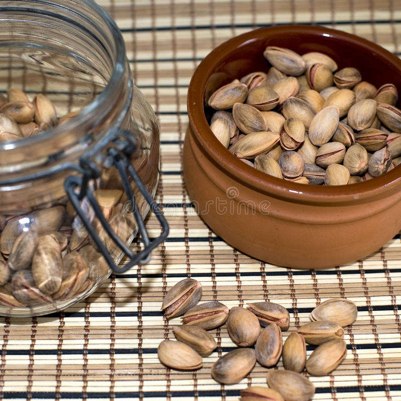 Pistachio Nuts. Royalty Free Stock Photos