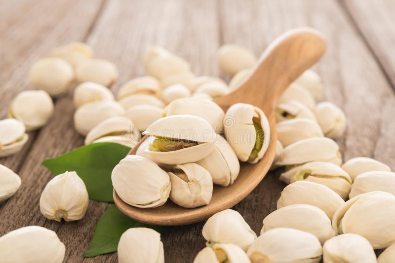 Pistachio nuts Salted royalty free stock image